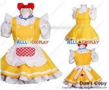 Doraemon Cosplay Dorami Yellow Maid Dress Costume H008