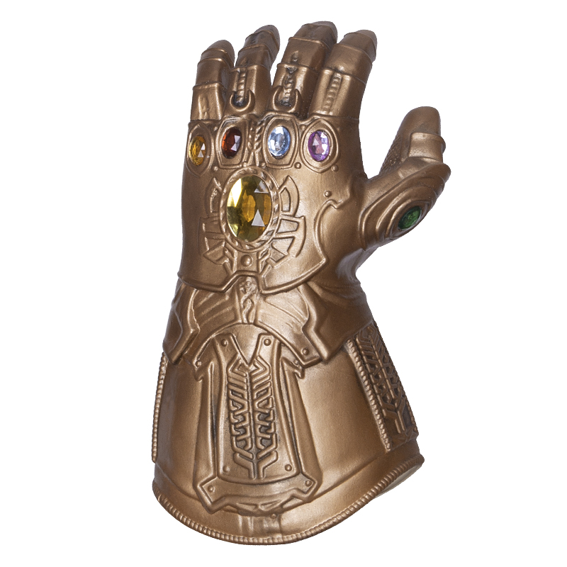 LED Thanos Infinity Gauntlet Avengers Infinity Guerra Guanti Cosplay di Supereroi Vendicatori Thanos Guanto di Lattice Trasporto Libero