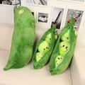 Girls Generation 45 cm Ervilhas De Pelúcia Bonecas Almofada Travesseiro para inclinar no da boneca Super Cute Little Peas Stuffed Plush bonecas