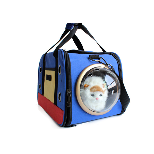 3850f9e8b5db De Viaje de la moda de Accesorios de Plumas Cápsula Espacial de Transporte  Bolsa De Perro