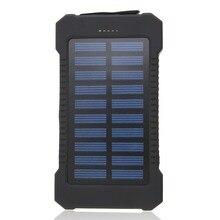 Универсальный 30000 мАч Солнечный аккумулятор портативный телефон внешний телефон зарядное устройство Внешний аккумулятор для путешествий резервные батареи для iPhone