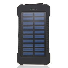 Universal 30000mAh Solar Battery Portable Telephone External Phone Battery Charger Power Bank Travel Backup Batteries for iPhone(China)