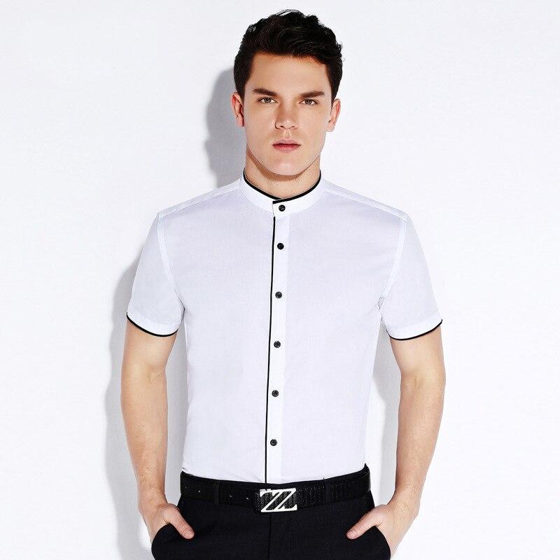 Online Get Cheap Cotton White Men Shirt Short Sleeve -Aliexpress ...