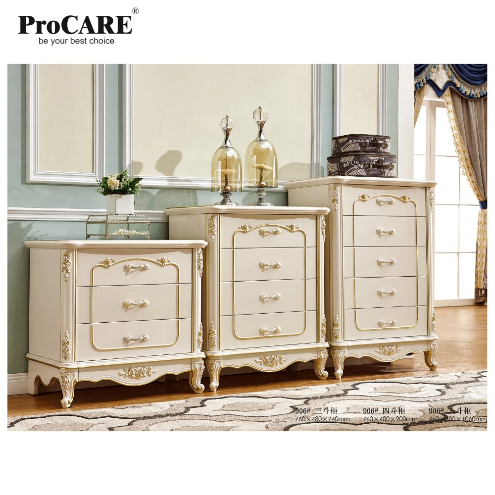 French White Drawers Drawers Bedroom Furniture 3/4/5 Drawer Cabinet drawer