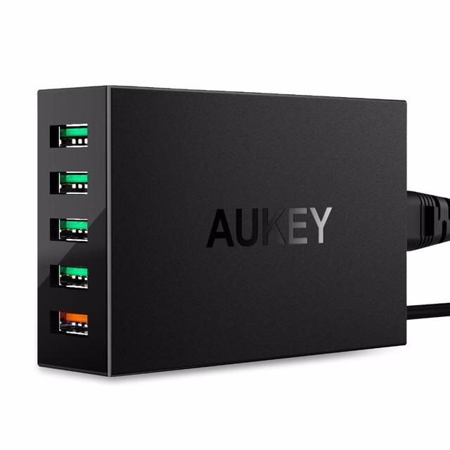 Qc 3.0 5 puerto de carga rápida usb cargador micro usb cable adaptador para samsung galaxy xiaomi 5 mi5 5S iphone ipad aipower tecnología