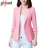 2017 New Plus Size Blazers Feminino 4XL 5XL Womens Business Suits Autumn All Match Woman Jackets