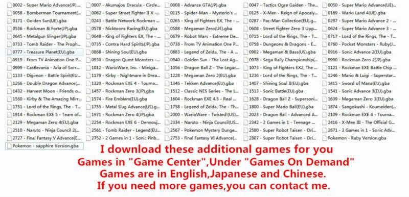 Libre cientos juegos 5 pulgadas de pantalla grande consola de juegos portátil calle Fighers lucha Final portátil reproductor de juego para GBA NES juego