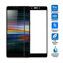 9H 6D Full Cover Tempered Glass For SONY Xperia 10 10 plus L3 Screen Protector For SONY X10 X10 plus L3 Protective Film GLASS glass deco s l3 page 9