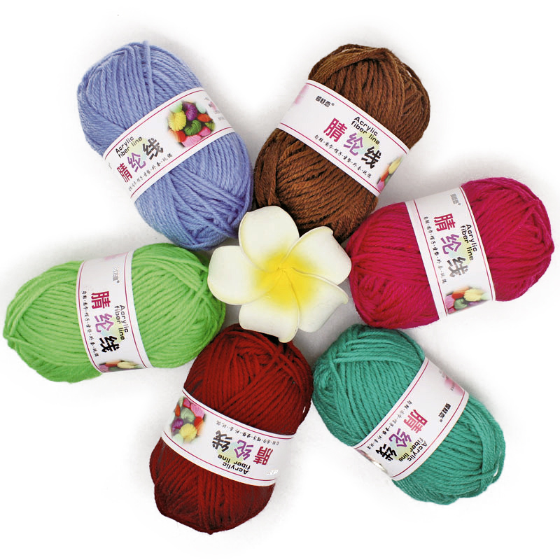 500g CHRISTMAS RED 4PLY YARN Cone wool Crochet Knitting crafts CLEAR OUT
