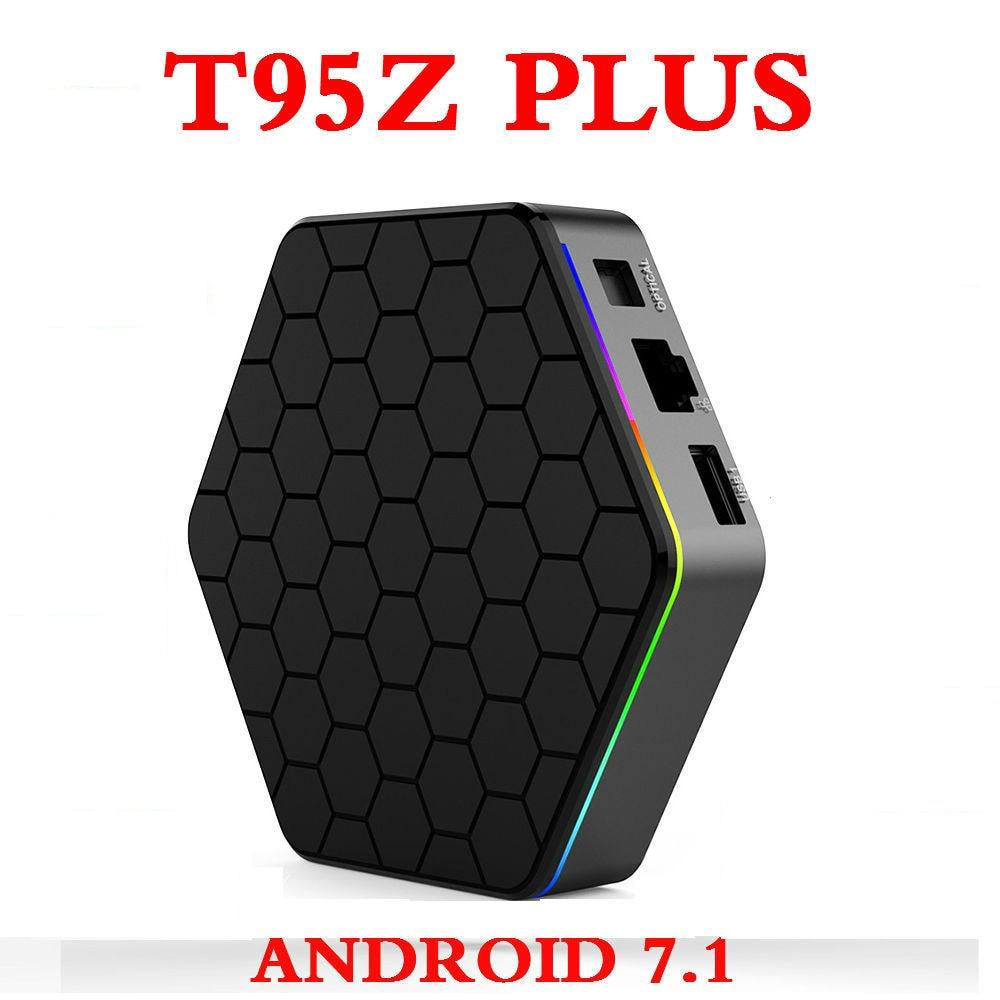 Original T95Z plus Android 7 1 TV BOX Amlogic S912 4K Set Top box OctaCore 2GB