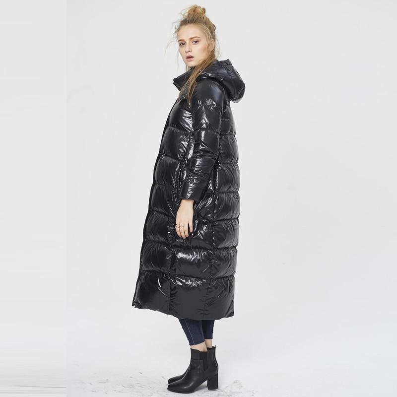 Le Vers Long Outwear Bas 5x Vestes Femelle Taille Ynzzu Haute Lâche Et Neige O289 D'hiver Plus À Capuche Chaud Qualité Manteaux Black 2017 La Chic Femmes Épais wRqq8It