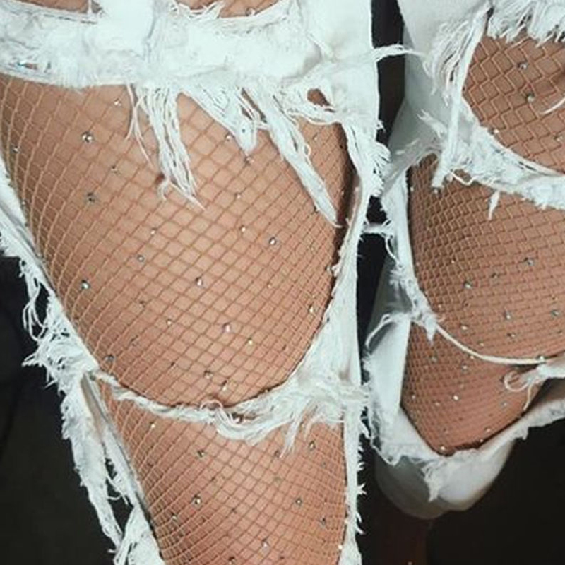Summer Stockings Female Fishnet Shiny Pantyhose Mesh Sexy Stockings Tights Nylons Lady Pantyhose Sexy Tights Collants Medias