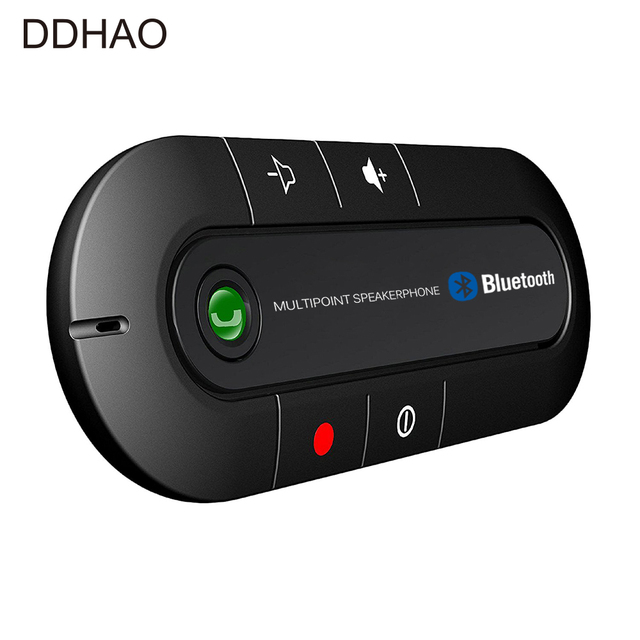 multipoint speakerphone 4 1 edr wireless bluetooth handsfree car kit mp3 music player for. Black Bedroom Furniture Sets. Home Design Ideas