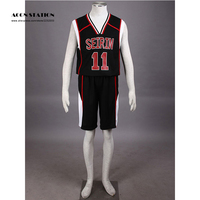 2019 Free Shipping Uniform Kuroko no Basket Kuroko Tetsuya Kuroko No.11 Mens Basketball Jersey Uniform Cosplay Costume
