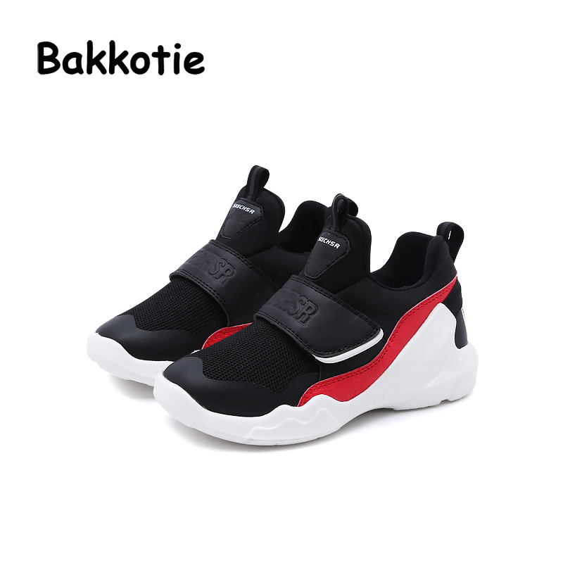 19ff355eac0 ... Bakkotie Girl Sport Mesh Shoes Spring Leisure Boy Trainer 2018 Shoe  Breathable Baby Fashion New Toddler ...