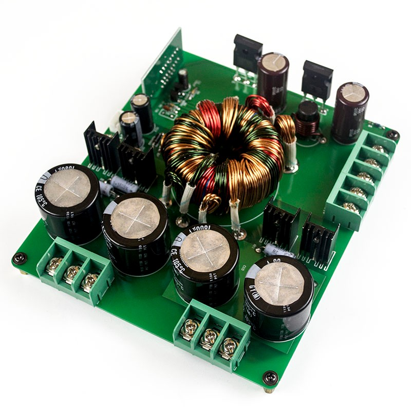 500W type C: DC12V To DC30V Switching boost Power Supply board For car amp