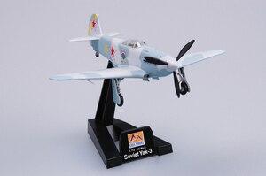 Image 2 - نموذج سهل الطراز بمقياس 37228 1/72 مقياس نموذج طائرة من الياك 3 المجمعة لا تحتاج إلى تجميع طائرة طائرة