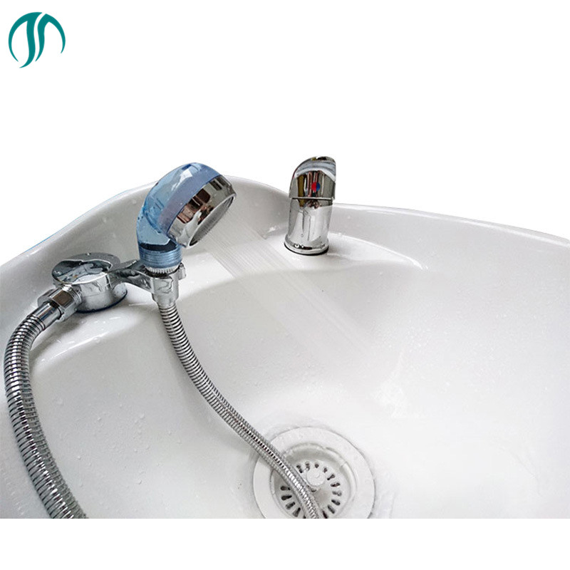 Plastic Handheld Showerhead Wash Hair High Pressure Shower Head Hand Laser Ball Shower Head Water Filter Shower Head Basin
