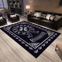 many paragraph Skull Print Carpet for Living Room Bedroom Soft Carpets Bathroom Floor Door mat Home Decor Carpet large Area Rug
