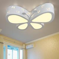 Moderne high power kinder führte Decke Lichter led lampen wohnzimmer schlafzimmer Schmetterling Decke lampen led lustre licht Decke lampe 5-in Deckenleuchten aus Licht & Beleuchtung bei