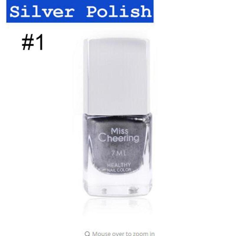 Metallic Nails polaco espejo efecto Metal brillante barniz manicura ...
