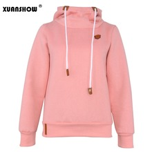 2017 Women Fashion New Hoodie Jacket Pullovers Sweatshirts Long Sleeve Pullover Tracksuits Hoodies S-XXL