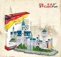 Cubicfun 3D Puzzle 98 шт. Новый Лебедь Каменный Замок Нойшванштайн 41.5*18*33.5 СМ Германия Строительство MC062H-2