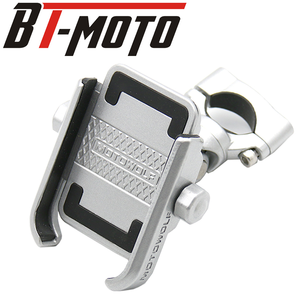 For BMW R1200GS F800 F700 GS G310GS G310R R1200GS ADV Motorcycle aluminum Mobile Phone Holder Stand Rotatable