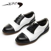 2018 nieuwe xfc heren golfschoenen ultra zachte bodem sportschoenen ademende lichtgewicht sneakers schoenen waterdichte mannelijke golfschoenen