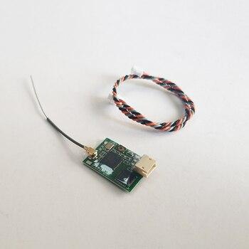20CH DSM2 DSMX odbiornik 3dbi zysk anteny 2.4G kompatybilny JR i spektrum dla RC DIY FPV wyścigi Mini Drone R720X