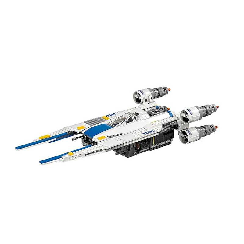New 679pcs Genuine Star War Series The Rebel U-Wing Fighter Set Building Blocks Bricks Toys Compatible with lego 75155 05054 kazi 608pcs pirates armada flagship building blocks brinquedos caribbean warship sets the black pearl compatible with bricks