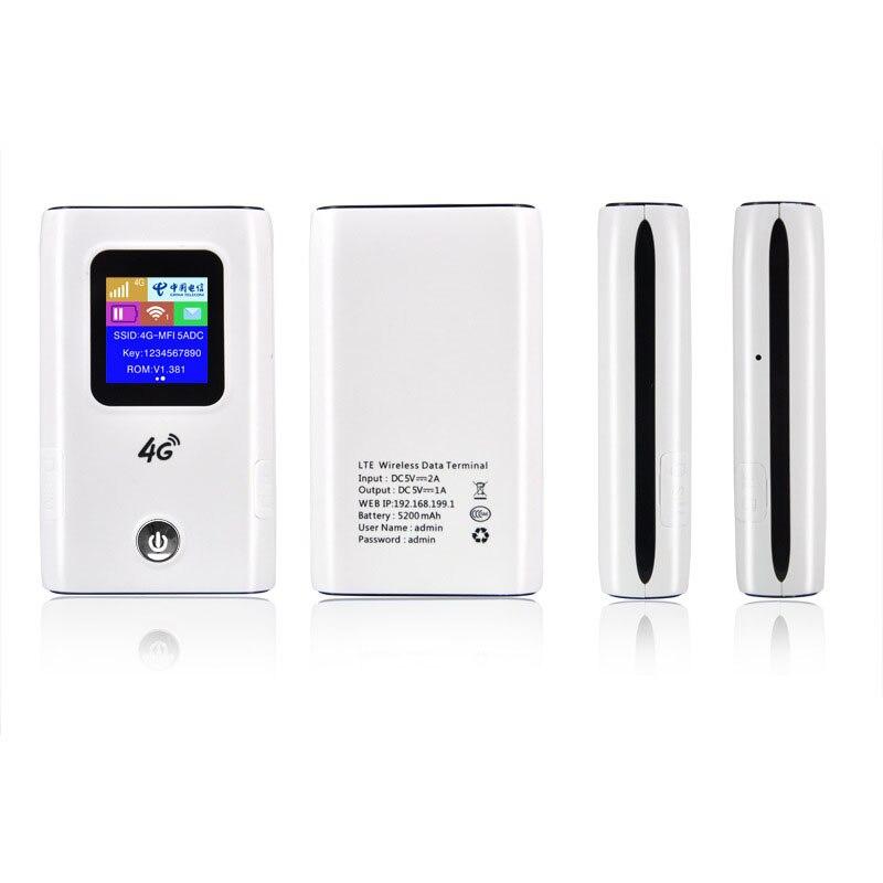 4G Wifi routeur voiture Hotspot Mobile sans fil haut débit poche Mifi déverrouiller Lte Modem sans fil Wifi Extender répéteur Mini routeur - 3