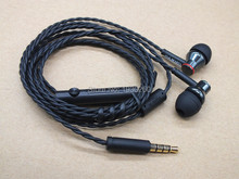 Original ONKYO E200M Stereo Hifi In Ear Earphone with Mic Remote Headset MP3 music ear plug for smartphones star pattern stereo in ear earphone black 3 5mm plug 116cm