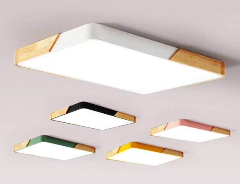 Modern Loft Ultra Thin Kitchen LED Ceiling Lamp Lovely