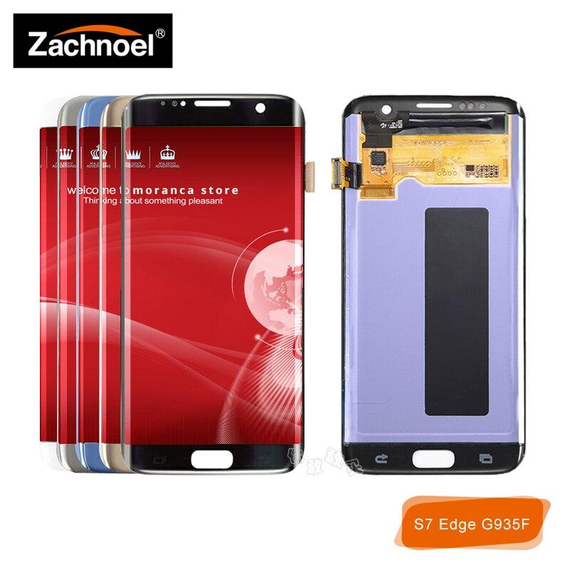 Écran de remplacement pour Samsung Galaxy S7 bord affichage G935 G935F SM-G935F écran LCD avec écran tactile numériseur assemblée
