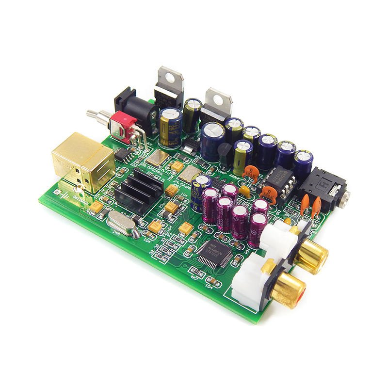 hifi mp3 decoder XMOS U8 + AK4490 AMP NE5532 USB DAC board Headphone Output Support for PCM 192kHz-in Digital-to-Analog Converter from Consumer Electronics    2