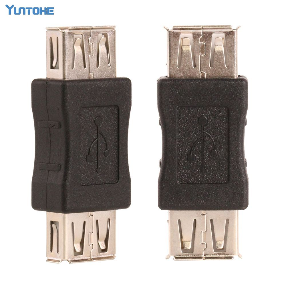Wholesale Good quality USB A Female to A Female Gender Changer USB 2 0 Adapter free
