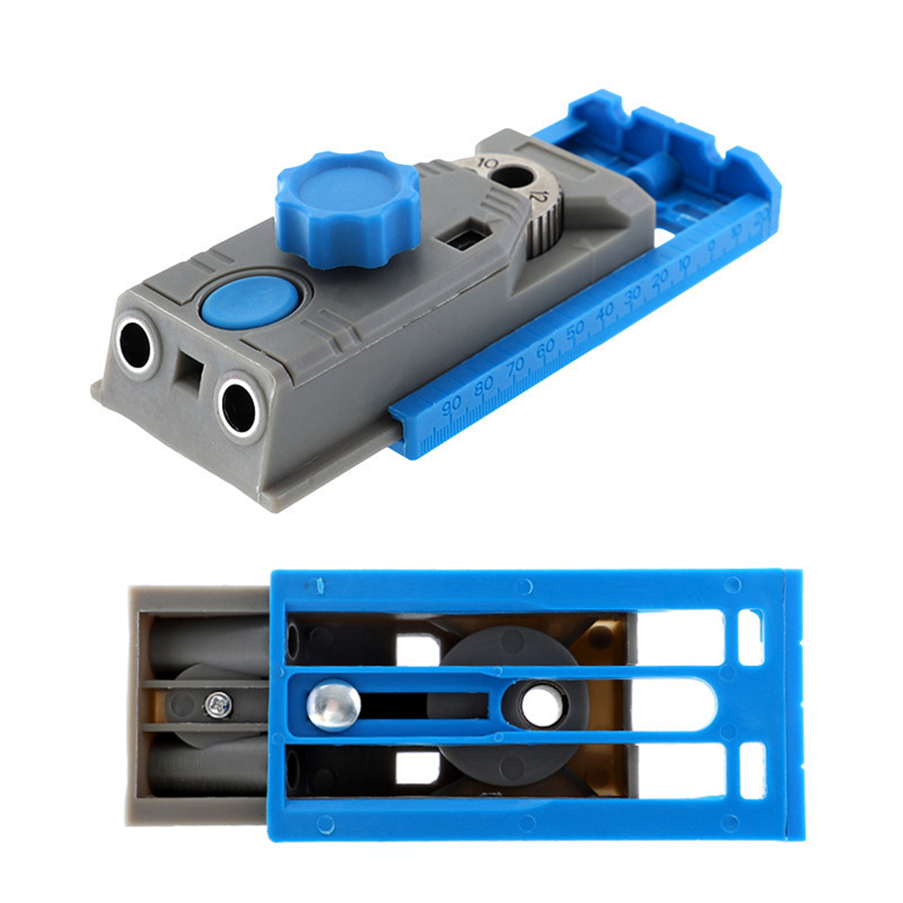 1PC Pocket Jig Drill Guider Drill Straight Holes Oblique Holes For Woodworking