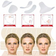 Linia zmarszczek twarzy zwiotczenie skóry podnieś taśmę Frown Smile linie v-kształt 3 rodzaje lifting twarzy Up szybkie piękno makijaż lifting twarzy narzędzia tanie tanio ELECOOL Maszyna wykonana MZ83233 Face Lift Tools EVA Resin Shape Tape (12 pcs) Round Tape (27 pcs) Long Strip (24 pcs) Clear