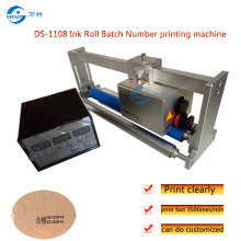 DS-1108 Coder printer coding machine printing machine for Solid-ink expiry,date batch Lot Synchronous tracking printing machine