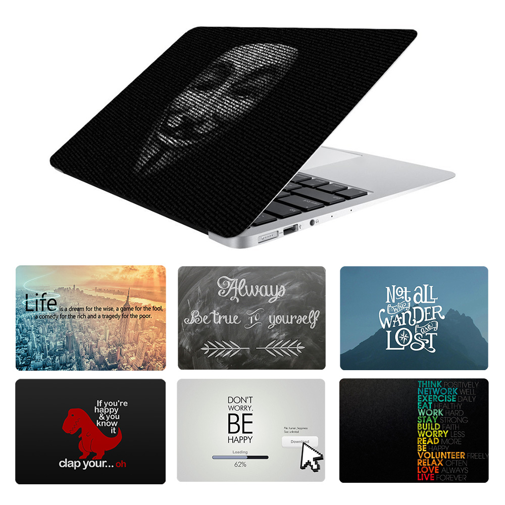 Inspired Quote Laptop Skin Sticker for Macbook Decal Pro Air Retina 11