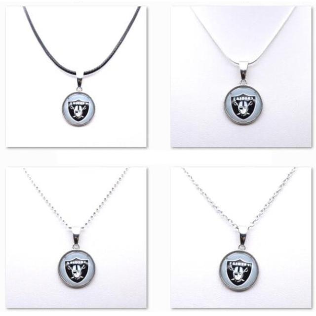 Us 9 5 Halskette Anhanger Frauen Halskette Kinder Halskette Fur Madchen Oakland Raiders Charme Fussball Fans Geschenke Party Geburtstag Neue 2018 In