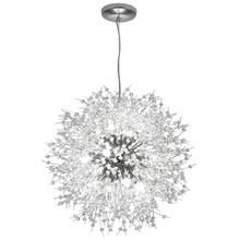 Modern Nordic Iron Crystal Dandelion LED Lamp LED Light Pendant Lights hanging lamp Suspendsion light Dinning Room Foyer Bedroom цены