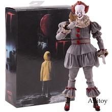 NECA צעצועי סטיבן מלך של זה את ליצן Pennywise דמות PVC אימה פעולה דמויות אסיפה דגם צעצוע