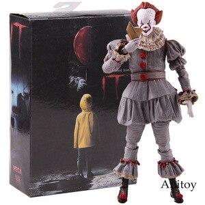 Image 1 - Neca Speelgoed Stephen King S Het De Clown Pennywise Figuur Pvc Horror Action Figures Collectible Model Speelgoed