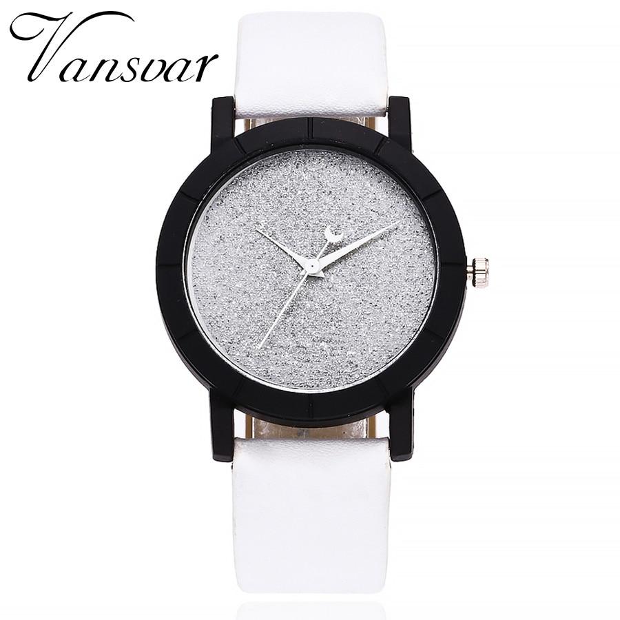Vansvar 2019 Women Watches Fashion Mesh Watches Women's Watches Casual Quartz Analog Watches Gift Relogio Feminino New A30