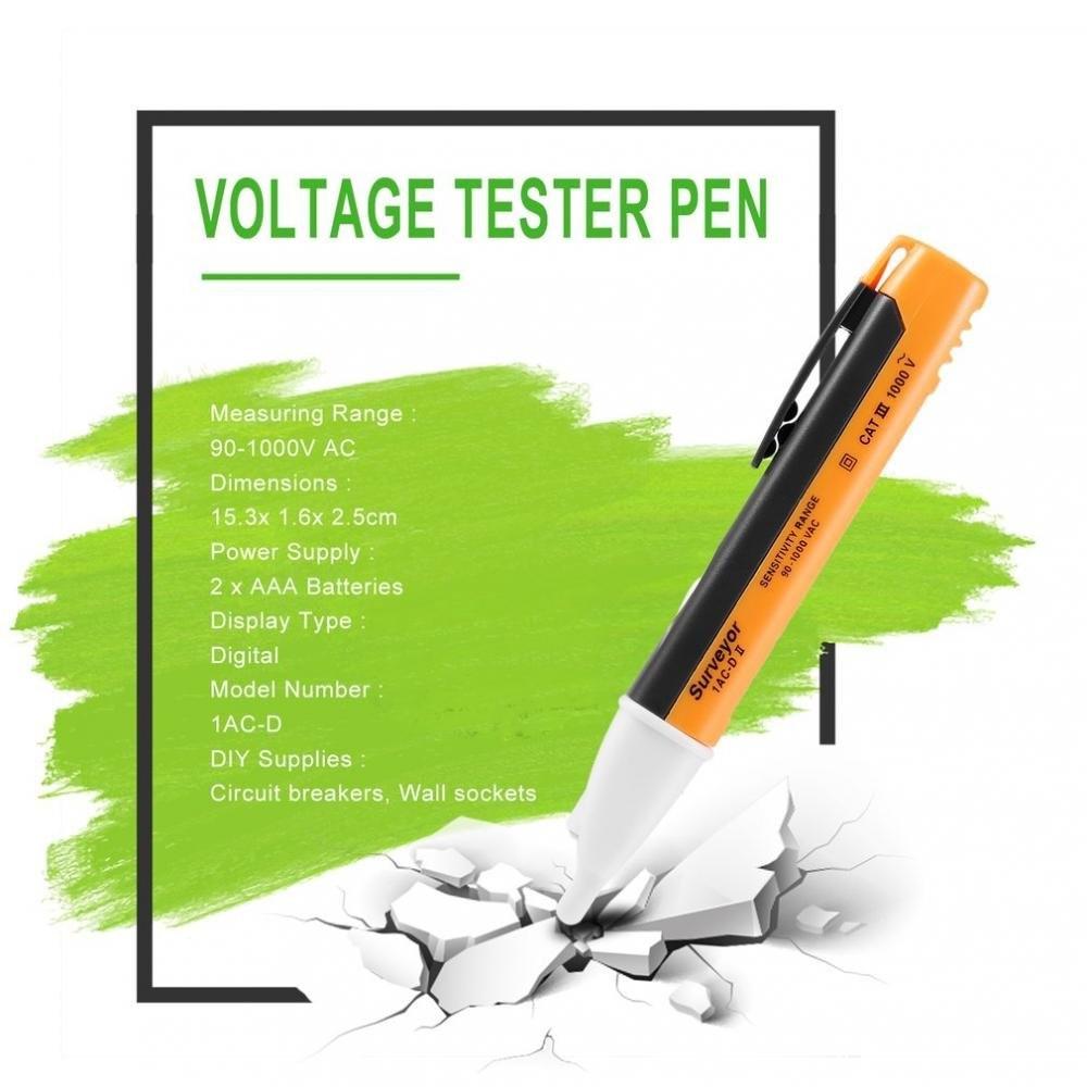 HTB1YZgMXRWD3KVjSZFsq6AqkpXaH Electric Indicator 90-1000V Socket Wall AC Power Outlet Voltage Detector Sensor Voltage Tester Pen LED Light