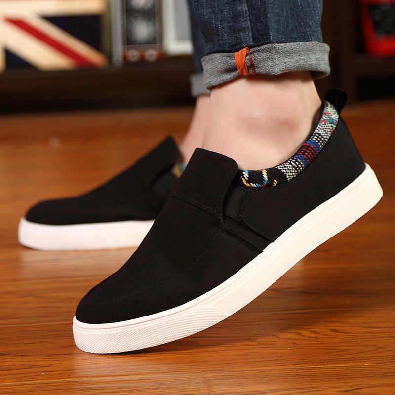 الرجال جلد حذاء كاجوال العلامة التجارية الخريف الشتاء جديد أزياء رياضية حذاء رجالي الكبار الأخفاف الذكور حذاء من الجلد المدبوغ Krasovki