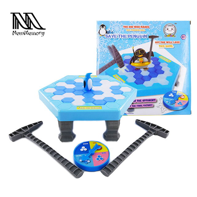 Penguin Trap Activate Funny Game Interactive Ice Breaking Table Save Penguin Trap Entertainment Toy for Kids Family Retail Pack