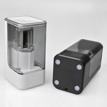 цены Electric Pencil Sharpener Creative Stationery Automatic Pencil Sharpener Kids Cute Stationery Gift For Office School Supplies